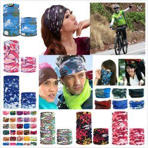 Банданы Многофункциональный Открытый Велоспорт шарф Магия повязок Череп шарф маска для лица Солнцезащитный волос группа больше вариантов