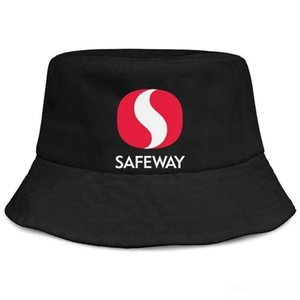 Womens Mens Plain Adjustable safeway Punk Hip-Hop Cotton Baseball Cap Bucket Sun Hats Flat Top Hat Airy Mesh Hats For Men Women