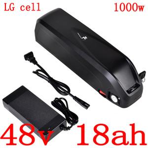 Nosotros eu batería de la bici eléctrica sin impuestos 48v 48v 17Ah 18ah batería de iones de litio con BMS 30a a motor de 48v 500w 750w 1000w bbs02 Bafang