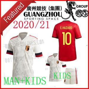 2020 Bélgica PELIGRO Lukaku MERTENS distancia Fútbol Inicio 20 21 equipo nacional Vermaelen De Bruyne Nainggolan MAN + niños del fútbol CAMISA