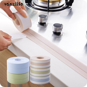 Pvc Waterproof Mildew Proof Adhesive Tape, Kitchen Sink Joint Crevice Sticker, Corner Line Sticking Strip Wall Stickers