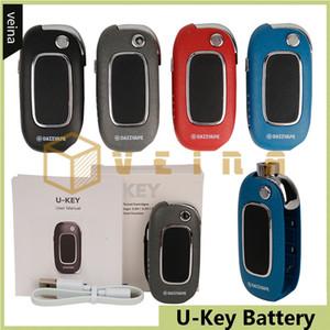 100% Original Dazzvape U-Key upour mod Préchauffage batterie 350mAh variable Tension Vape Mod 510 huile épaisse en céramique Coil Cartouche DHL