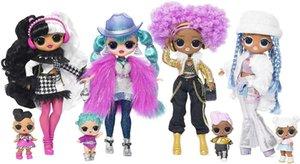 LOL. Winter Disco 24K D.j. Fashion Doll & Sister Girls Toys Y200428120