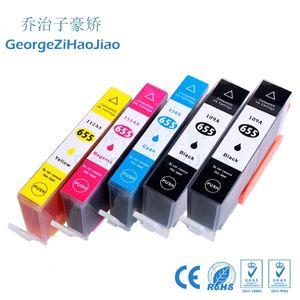 5 ADET 655XL Uyumlu 655 Mürekkep Kartuşu Değiştirme deskjet için HP 655 HP655 3525 5525 685 670 655xl 4615 4625 YAZıCı