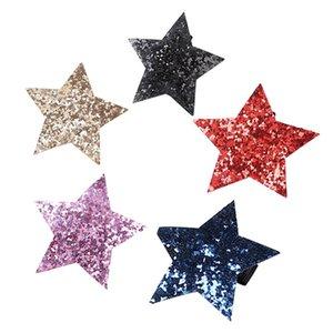 10pcs Haarnadel Sequin Nette Pentagram Große BobbyPin Spange Haarspange für Kinder Kinder