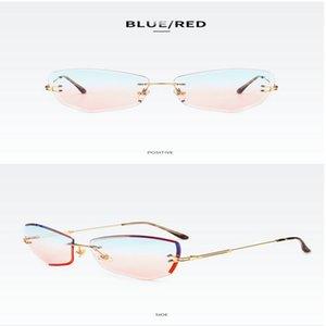 Street shooting wild glasses Luxury Business Reading Glasses Men's Rimless Gold Hyperopia Male Reader Eyeglasses High Clear Lens Man Tp6Qb
