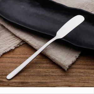 Queso creatividad 304 de acero inoxidable cuchillo de mantequilla occidental Alimentos Pan Pan Jam esparcidor cuchillo Vajilla Cuchillos de DHL