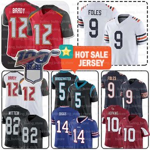 Chicago 9 Nick Foles Jersey Bears 12 Tom Brady 17 Josh Allen Buffalo 14 Stefon Diggs Bill Arizona 10 DeAndre Hopkins Cardinal