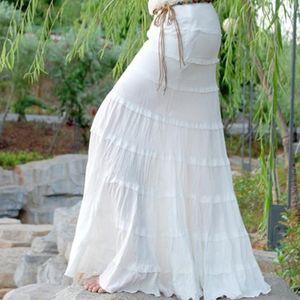 Free Shipping 2019 New White Elegant ol Long Maxi Skirt Slim Hip Fish Tail Skirt For Women Mermaid Style Sexy Summer Skirts S-L