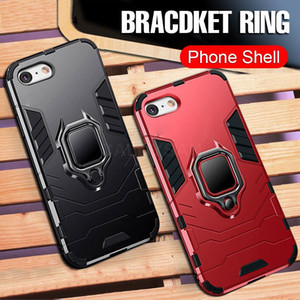 Shockproof luxury designer phone cases iphone xr 6 6S 7 8 Plus X XS Max XR Case For iPhone 11 Pro 11Pro Max 5 5S SE Finger Ring Holder Cases