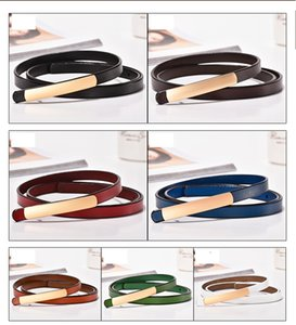 Hot luxury high quality designer belt fashionable girdle, seven colors optional, width 1.1 cm