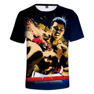 Hot Fashion Muhammad Ali T-shirt approprié T-shirts Muhammad Ali Populaire T-shirt manches courtes d'été 3D Hommes Femmes Imprimer Hauts Casual