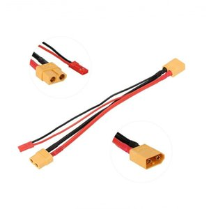 FUSE MODEL RC Aircraft Deans T plug XT60 Extension Cable with JST Parallel Battery Connector Plug adapter for RC FPV MultiRotor Aerial car
