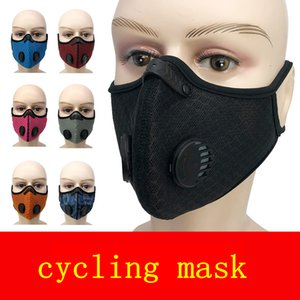 Hanging Ear Cycling Face Mask mesh valve Outdoor Dust-Proof Anti Smog Reusable Male Female Mask With PM2.5 Filter  mask FFA4108