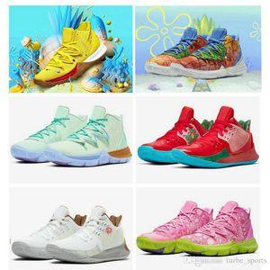 Pineapple House Kyrie baloncesto de los hombres zapatos para hombre 5 5s Constelaciones Conceptos Irving 2s Multi-color de la esponja Formadores 20 aniversario zapatillas de deporte