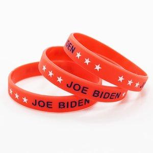 JOE BIDEN Bracelet Wristband Anti Donald Trump President Support Joe Biden President Silicone Bracelets Wristbands Party Gifts DBC BH3842