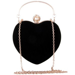 Mujeres Tote Forma Handbags Clutch Female Messenger Hombro Moda Mini Tarde Cuerpo Bolsos Bolsas Corazón Elegante Bolsas Cross Wvros
