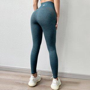 BINAND Seamless Gym Leggings High Waist Yoga Pants Lycra Tights Leggings Sport Women Fitness Slim Workout Sports Pants For Women T200530