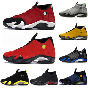 gym red 14 14s mens basketball shoes SE Black Red University Gold Graphite Desert Sand Candy Cane Thunder retro LAST SHOT sport sneakers