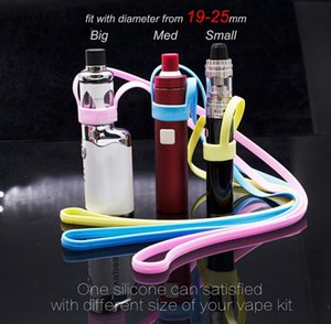 MOQ 1pcs Silicone Necklace Lanyard carrying holder Fit TobecoMini4MLElectronic Cigarette Ecig Accessories
