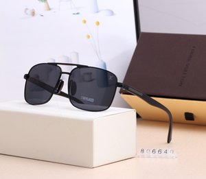 New fashion designer man sunglasses 006 square frames vintage popular style uv 400 protective outdoor eyewear