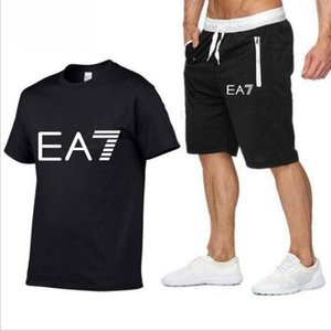 Women Men Tracksuits Casual Short Sleeve Tops + shorts Two-piece Jogger Set Tracksuit Sweat Suits sportswear running jogging suits
