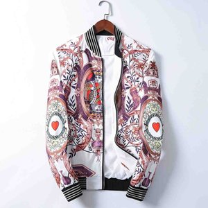 New men's jacket luxury designers embroidery letters jacket jacket men's fashion fashion fashion trend must be selected, high-quality brand