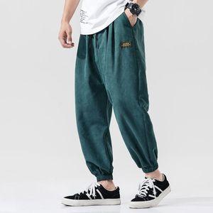 Casual Harem Pants Men Jogger Pants Men Loose Trousers Male Chinese Traditional Harajuku Summer Clothe