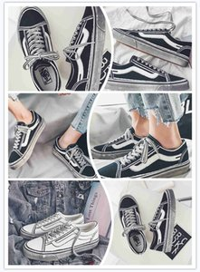 Cheaper New VanOFF THE WALL old skool FEAR OF GOD For men women canvas sneakers YACHT CLUB MARSHMALLOW fashion skate casual shoes
