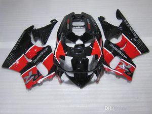 ZXMOTOR 7gifts Verkleidungen für Honda CBR900RR CBR 893 1995 1997 rot schwarz Verkleidungssatz CBR893 95 97 GF34