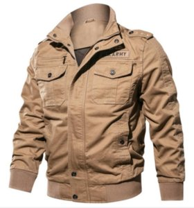 Air Force One Mens Army Army Coat Chaquetas finas Hoode Ropa Cremallera Botón Coat Hombres Casual Designer Mens Designer Jacket Top M-6XL 006