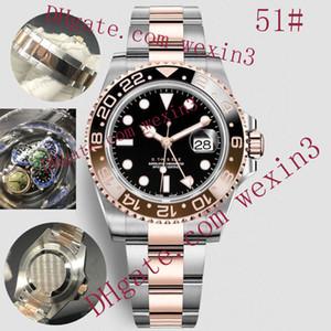 16 Renk Lüks adam Saatler M Otomatik 2813 40mm yüzün Su geçirmez Erkek İzle A Gümüş Jubilee bilezik Veya Oyster Paslanmaz Çelik Watchband