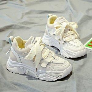 Kadınların zapatos de mujer ZP-208 için 2020 yeni bahar ve yaz vahşi nefes örgü öğrenci spor ayakkabıları
