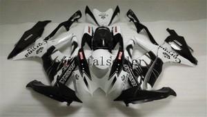 Buono per SUZUKI GSXR 600 750 GSX R750 R600 GSXR600 08 09 10 GSXR750 GSXR600 GSXR750 K8 2008 2009 2010 bianco nero della carenatura kit AA10