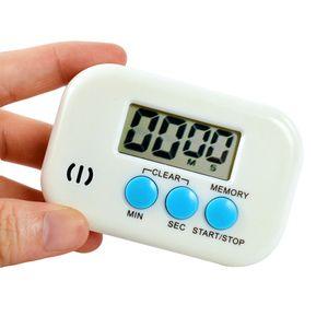 انذار المطبخ الموقت الرقمية على مدار الساعة العد التنازلي للأغذية الطبخ مطبخ الالكترونية الانضمام المغناطيسي LCD كبيرة الادوات الشاشة
