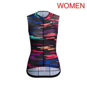 2019 RAPHA Team Womens Cycling Sleeveless jersey bicycle Vest Summer Breathable mtb bike shirt cycle clothing sport uniform Y060602