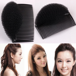 Volume útil do cabelo Insere Clipe Pretty Girl rabo de cavalo cabelo Comb cabeça banda Pad Bun Criador Faixa de Cabelo Acessório