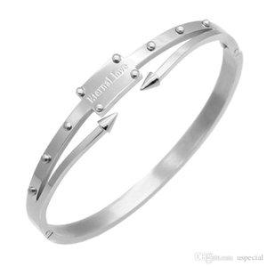 Pop Alta USpecial 2019 modo del braccialetto braccialetto in acciaio inox, rivetti vite, conica braccialetto inossidabile di trasporto