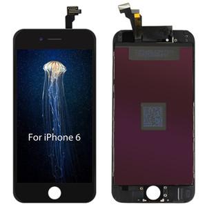 Tianma display lcd de alta brilho toque digitador assembléia tela cheia substituição para iphone 5 5s 6g 6 plus 6 s 7 8 livre dhl