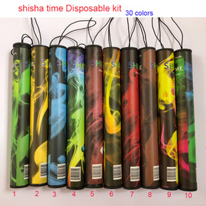 E cigarettes Temps gros Shisha Vape Pen Kit de dispositif à usage unique avec 500 Puffs Vape Pen Eshisha stylo e narguilé vs barre feuilletée chaud