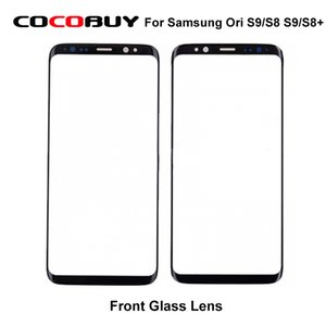 / S8 S9 / S8 Artı LCD Ekran Dokunmatik Ekran Ön Dış Cam Samsung Galaxy S9 için Samsung Orjinal Yedek Dış Cam