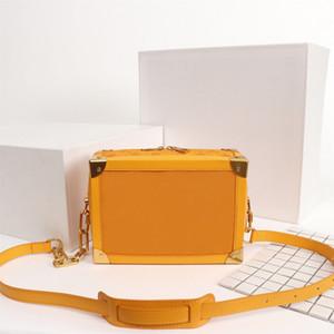 Orijinal Yüksek Kaliteli Tasarımcı Lüks Çantalar Cüzdanlar Yumuşak Gövde Çantası Kadınlar Marka Bez Sert kılıf S-lock Gerçek Deri Omuz Çantaları