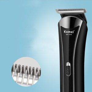 Kemei Professional impermeabiliza o cabelo trimmer melhor trimmer para o seu bolas aparador de cabelo clippers homens barba de Homens OEGyX
