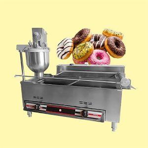 Elektrikli Gaz Isıtma Çarpma Otomatik Çörek Kızartma Makinesi / Çörek Makinesi / Donuts Kızartma Makinesi / Çörek Yapma Makinesi