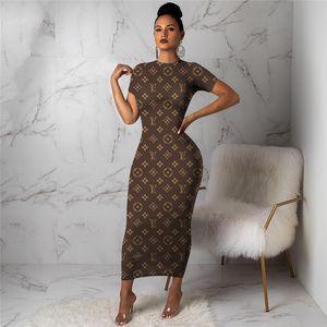 3Y298 Frauen Winter Rock Einteiliges Kleid Langarm Designer Kleid Maxi-Kleider hohe Qualität Bodycon Kleid Elegante Nacht Tragen