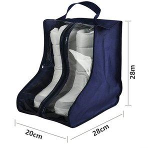 ПВХ для дома и сада сапоги обувь пыле сумка чехол для хранения обувь Protector Bag 20 * 28 * 28см J2Y