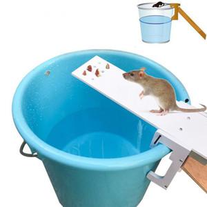 Los ratones Trampa Inicio Jardín de plagas controlador Rata finalización rápida del balancín ratón Catcher cebo Inicio rata trampas de ratón de plagas de roedores Animal repelente