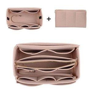2020 Fashion Women Portable Cosmetic Bags Handbag Bag Felt Cloth Large Capacity Women Storage Pouch Travel Accessories Kvtwm