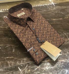 Mens concepteur chemises de marque chemise française Paris marque vêtements 128 hommes de style shirt Hip Hop manches longues en coton de haute qualité 2019 nouvelle arrivée