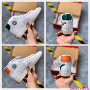 2019 New Release Blazer Mid x Hawkins High Sl Sport Shoes Stranger Things Basketball Shoes for Men Designer Sneakers Hot Sale Trainers